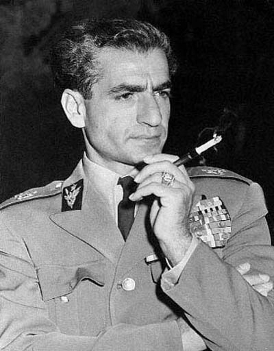 <b>Mohammad Reza</b> Shah Pahlavi, an intellectual arrogant pose for the 1950s - Mohammad%20Reza%20Shah%20Pahlavi%20pose%201950s