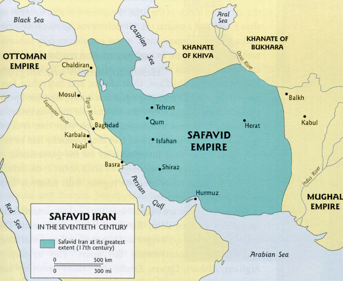 Iran Politics Club Iran Historical Maps 9 Safavid