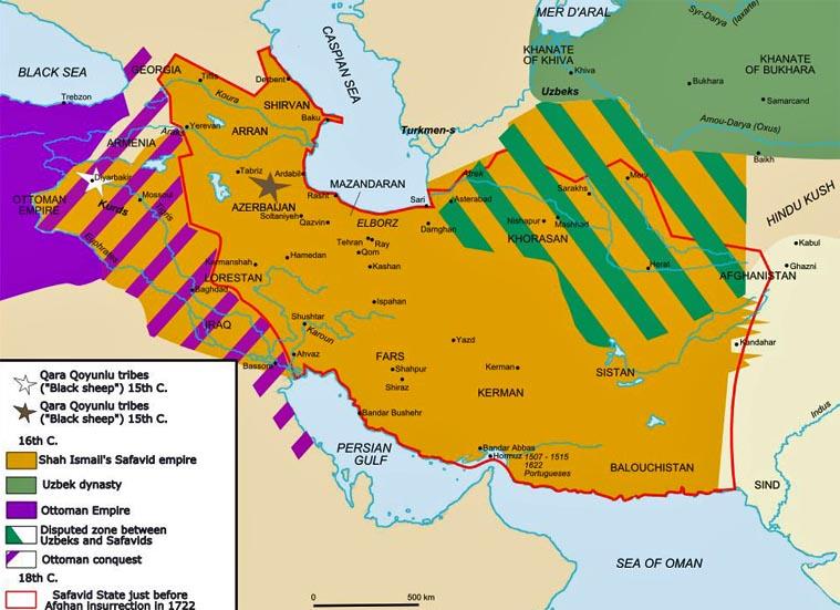 Iran Politics Club Iran Historical Maps Safavid Persian Empire - Persian empire map