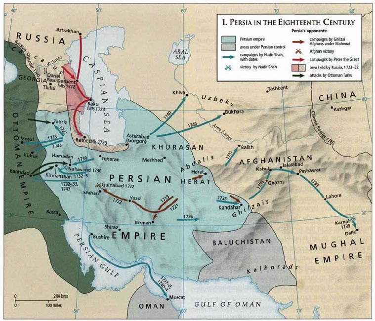 Iran Politics Club Iran Historical Maps 9 Safavid Persian Empire – Afghanistan Iran Map