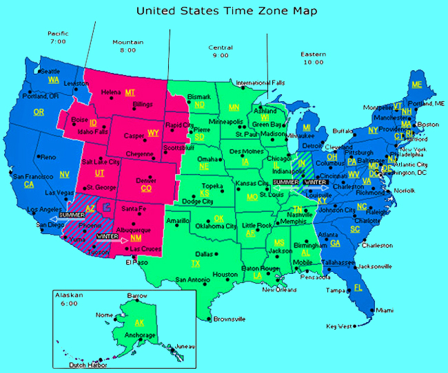 Time Zone Calculator Map Topographic Map Us Time Zone Converter Map